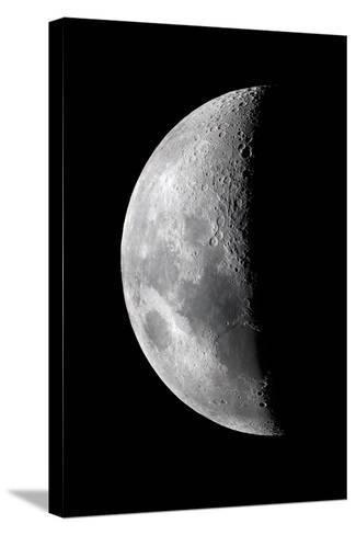 Waxing Crescent Moon-John Sanford-Stretched Canvas Print