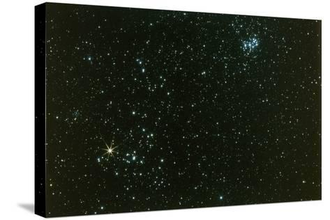 Optical Photo of the Hyades Star Cluster-John Sanford-Stretched Canvas Print