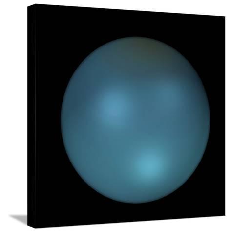 Uranus-Friedrich Saurer-Stretched Canvas Print