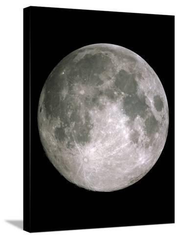 Full Moon-John Sanford-Stretched Canvas Print