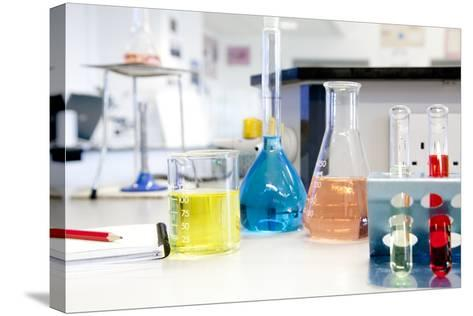 Science Classroom-Science Photo Library-Stretched Canvas Print