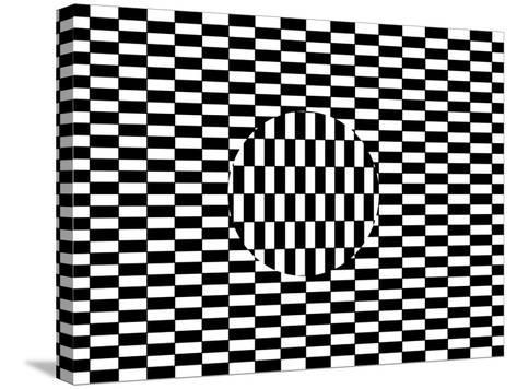 Ouchi Illusion-Science Photo Library-Stretched Canvas Print
