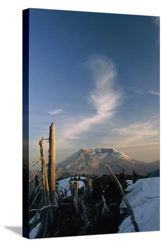 Mount St Helens Volcano-Alan Sirulnikoff-Stretched Canvas Print