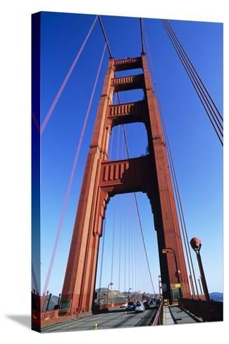 Golden Gate Bridge-Alan Sirulnikoff-Stretched Canvas Print