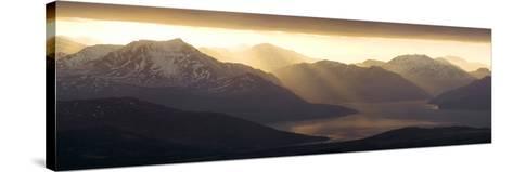 West Highland Coastline-Duncan Shaw-Stretched Canvas Print