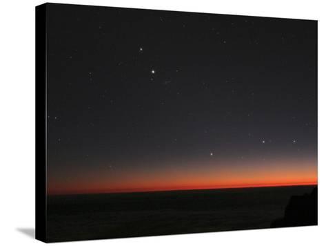 Planetary Conjunction, Optical Image-Eckhard Slawik-Stretched Canvas Print
