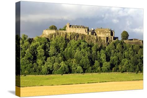 Stirling Castle, Scotland, UK-Duncan Shaw-Stretched Canvas Print