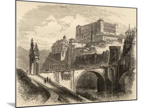 Toledo, Spain, Illustration from 'spanish Pictures' by the Rev. Samuel Manning--Mounted Giclee Print