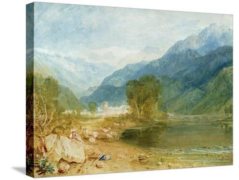 Bonneville, Savoy-J^ M^ W^ Turner-Stretched Canvas Print