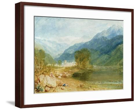 Bonneville, Savoy-J^ M^ W^ Turner-Framed Art Print