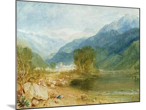 Bonneville, Savoy-J^ M^ W^ Turner-Mounted Giclee Print