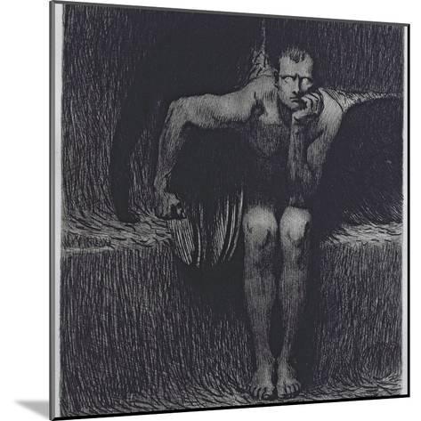 Lucifer-Franz von Stuck-Mounted Giclee Print