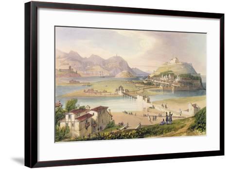 San Sebastian, 1838-Henry Wilkinson-Framed Art Print