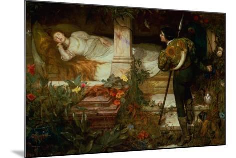 Sleeping Beauty-Edward Frederick Brewtnall-Mounted Giclee Print