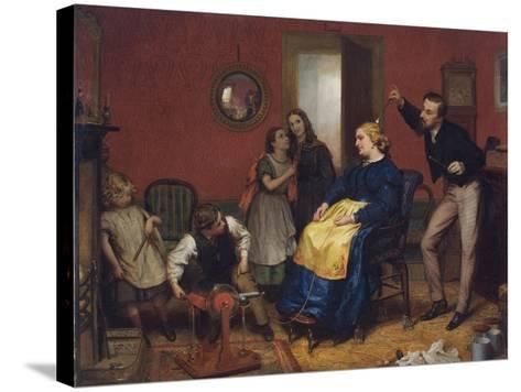 The Cure for a Headache-David Henry Friston-Stretched Canvas Print