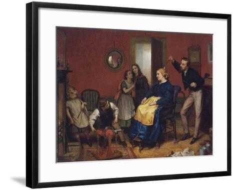 The Cure for a Headache-David Henry Friston-Framed Art Print