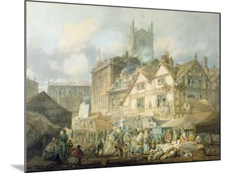 High Green, Queen Square, Wolverhampton, 1795-J^ M^ W^ Turner-Mounted Giclee Print