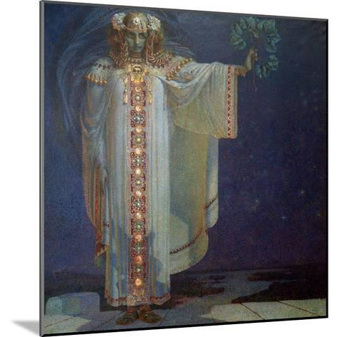 The Prophetess Libuse, 1893-Vitezlav Karel Masek-Mounted Giclee Print