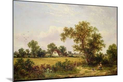 Essex Landscape-James Edwin Meadows-Mounted Giclee Print