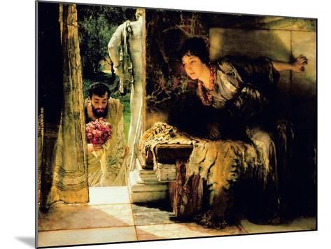 Welcome Footsteps, 1883-Sir Lawrence Alma-Tadema-Mounted Giclee Print