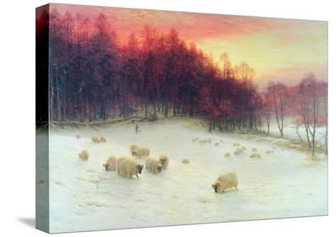 When the West with Evening Glows, Exh.1910-Joseph Farquharson-Stretched Canvas Print