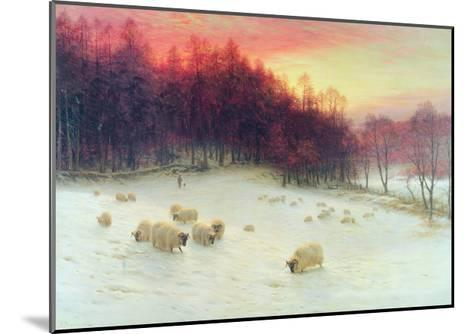 When the West with Evening Glows, Exh.1910-Joseph Farquharson-Mounted Giclee Print