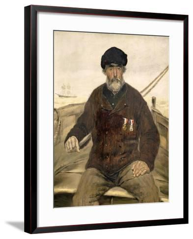 The Father Alcazia-Jean Francois Raffaelli-Framed Art Print