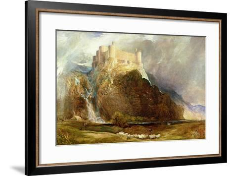 Harlech Castle: Four Square to All the Winds That Blow-Henry Clarence Whaite-Framed Art Print