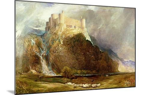 Harlech Castle: Four Square to All the Winds That Blow-Henry Clarence Whaite-Mounted Giclee Print