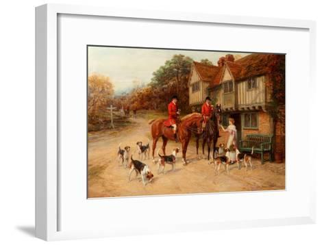 A Refresher at the Dragon-Heywood Hardy-Framed Art Print