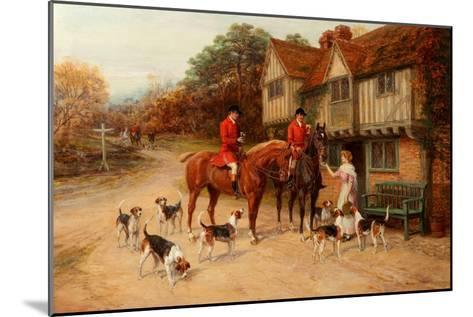 A Refresher at the Dragon-Heywood Hardy-Mounted Giclee Print