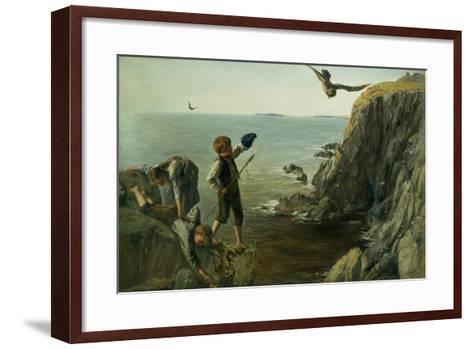 The Bonxie, Shetland, 1873-James Clarke Hook-Framed Art Print