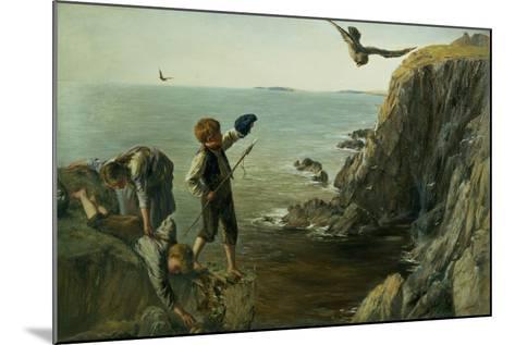 The Bonxie, Shetland, 1873-James Clarke Hook-Mounted Giclee Print