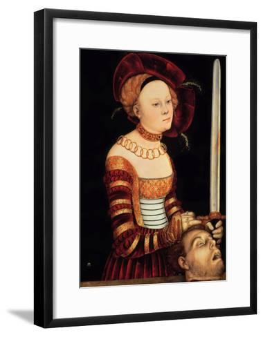 Judith-Lucas Cranach the Elder-Framed Art Print