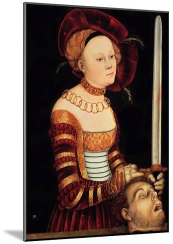 Judith-Lucas Cranach the Elder-Mounted Giclee Print