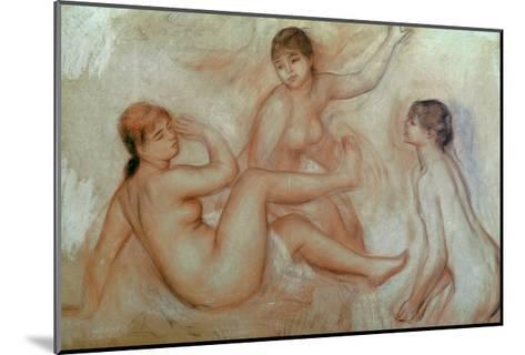Bathers, C.1887-Pierre-Auguste Renoir-Mounted Giclee Print