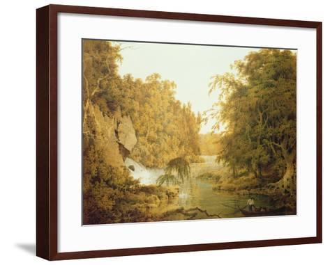 Dovedale, the Peak District-Joseph Wright of Derby-Framed Art Print