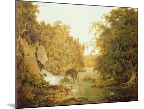 Dovedale, the Peak District-Joseph Wright of Derby-Mounted Giclee Print