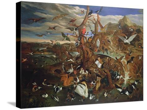 The Parliament of Birds-Carl Wilhelm De Hamilton-Stretched Canvas Print