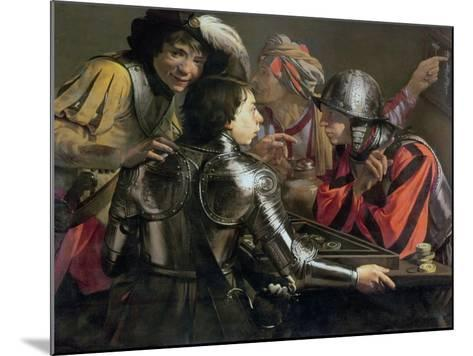 The Backgammon Players-Hendrick Terbrugghen-Mounted Giclee Print