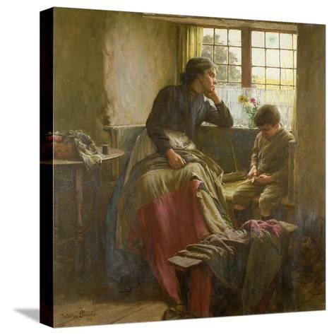 Tender Grace of a Day That Is Dead-Walter Langley-Stretched Canvas Print