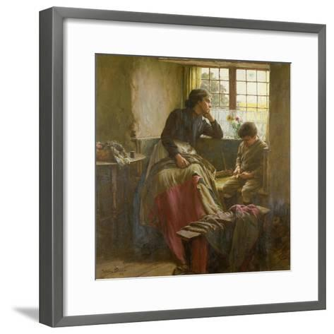 Tender Grace of a Day That Is Dead-Walter Langley-Framed Art Print