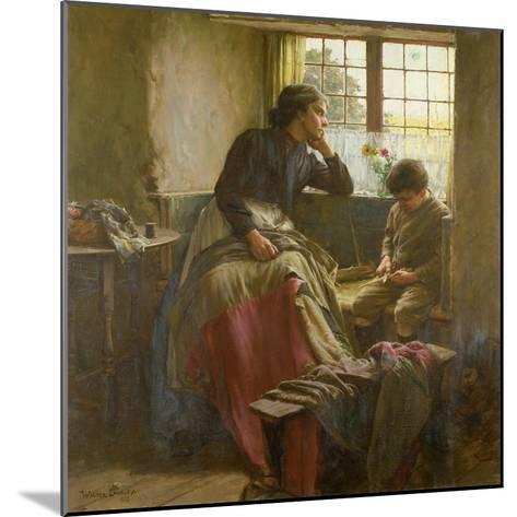 Tender Grace of a Day That Is Dead-Walter Langley-Mounted Giclee Print