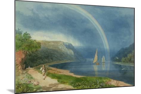 Rainbow on the River Avon, C.1825-Samuel Jackson-Mounted Giclee Print