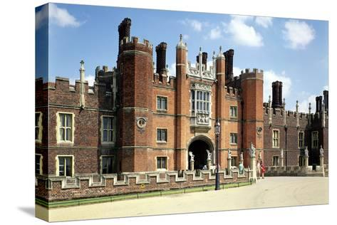Hampton Court Palace in Spring14 and 1520--Stretched Canvas Print