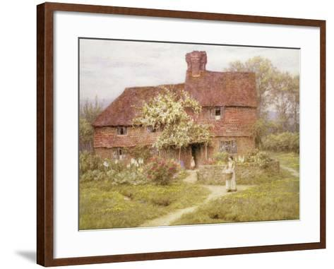 Rose Cottage, Shottermill-Helen Allingham-Framed Art Print