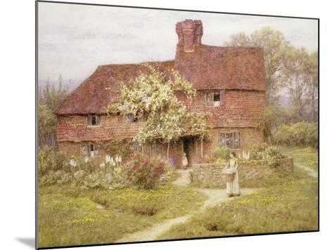 Rose Cottage, Shottermill-Helen Allingham-Mounted Giclee Print