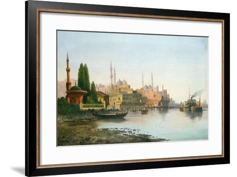 A View of Constantinople-F. Herink-Framed Art Print