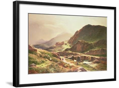 Highland Scene-Sidney Richard Percy-Framed Art Print
