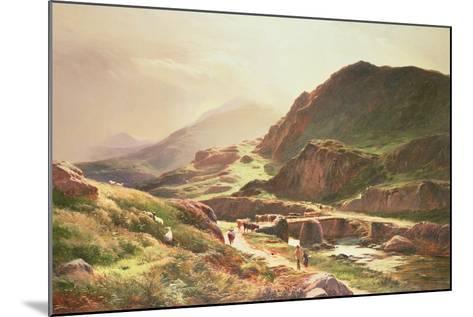 Highland Scene-Sidney Richard Percy-Mounted Giclee Print